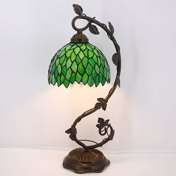 Werefactory Tiffany Lamp Green Wisteria