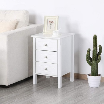 YAHEETECH Nightstand with