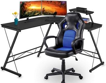 Yaheetech Computer Game Chair Set