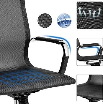 Yaheetech Ergonomic Mesh Chair