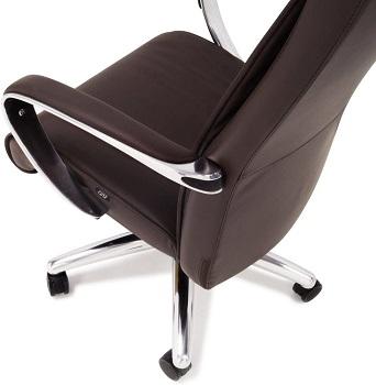 Zuri Leather Aluminum Office Chair