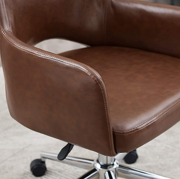 Art Leon Leather Home Chair