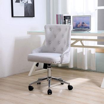BEEY Velvet Shell Chair