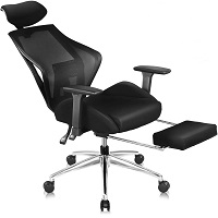 BEST ADJUSTABLE EXECUTIVE CHAIR WITH FOOTREST Summary
