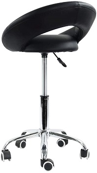 BEST ARMLESS COMFORTABLE DESK CHAIR FOR SMALL SPACE