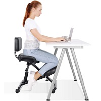 BEST ARMLESS COMFORTABLE DESK CHAIR WITH WHEELS Summary