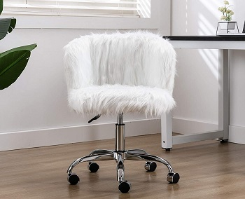 BEST ARMLESS COMFORTABLE WORK CHAIR FOR HOME