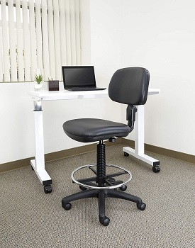 BEST ARMLESS MOST COMFORTABLE DRAFTING CHAIR