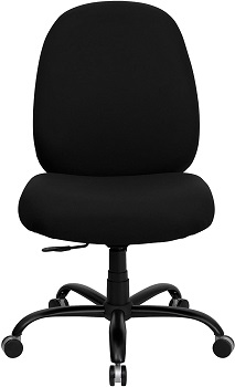 BEST ARMLESS OFFICE CHAIR FOR OVER 300 LBS