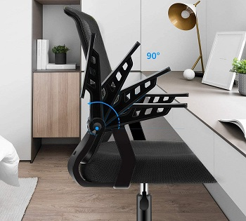 BEST BACK SUPPORT COMFORTABLE DESK CHAIR FOR SMALL SPACE