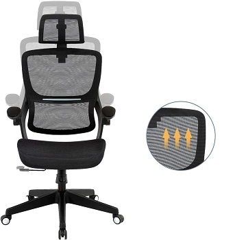 BEST BACK SUPPORT MOST COMFORTABLE EXECUTIVE OFFICE CHAIR