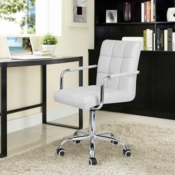 BEST CHEAP COMFORTABLE WHITE OFFICE CHAIR