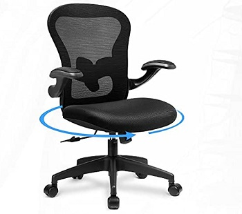BEST ERGONOMIC COMFORTABLE DESK CHAIR FOR SMALL SPACE