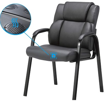 BEST ERGONOMIC DESK CHAIR WITH ARMS NO WHEELS