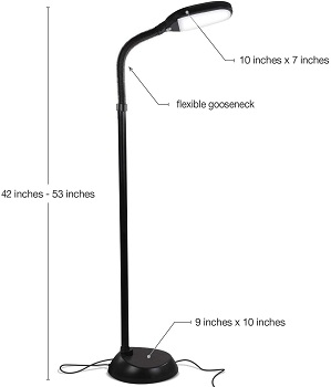 BEST FLOOR OFFICE LAMPS NATURAL LIGHT