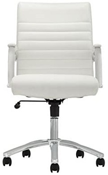 BEST FOR STUDY COMFY WHITE OFFICE CHAIR