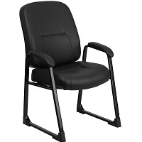 BEST LEATHER BLACK DESK CHAIR WITHOUT WHEELS Summary
