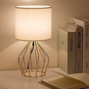 BEST LED SMALL GOLD DESK LAMP