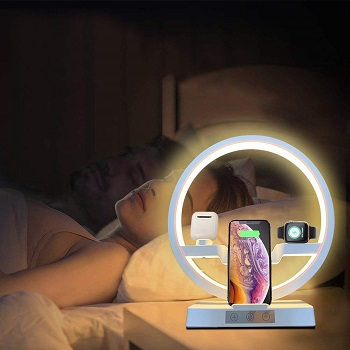 BEST IPHONE WIRELESS PHONE CHARGING LAMP