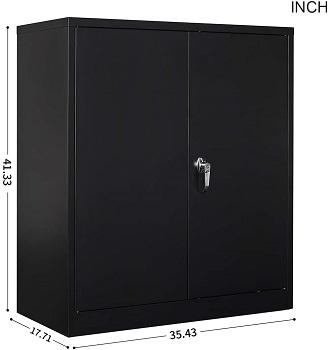 BEST METAL 2-DOOR FILING CABINET