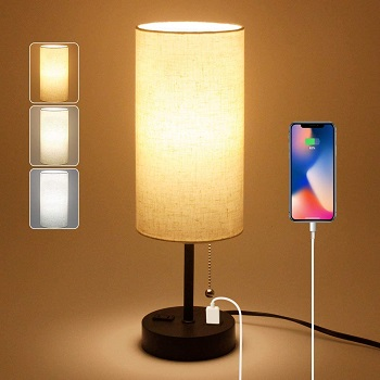 BEST MODERN SMALL DESK LAMP WITH SHADE