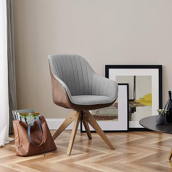 BEST OF BEST DESK CHAIR NO WHEELS WITH ARMS