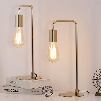 BEST OF BEST SMALL GOLD DESK LAMP