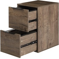BEST SMALL 2-DRAWER WOODEN FILING CABINET picks