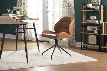 BEST SWIVEL HOME OFFICE CHAIR WITHOUT WHEELS