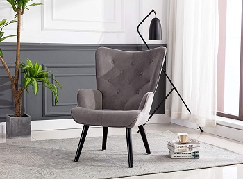 BEST TALL UPHOLSTERED DESK CHAIR WITHOUT WHEELS