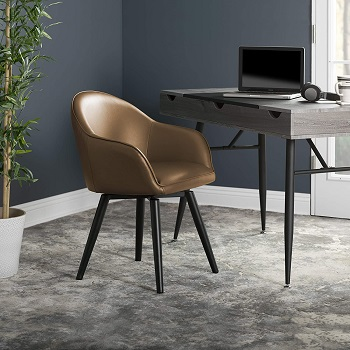 BEST TASK DESK CHAIR NO WHEELS WITH ARMS