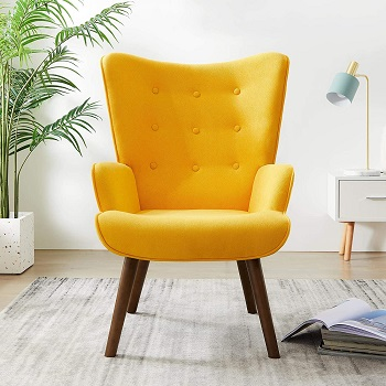 BEST UPHOLSTERED DESK CHAIR WITH ARMS NO WHEELS