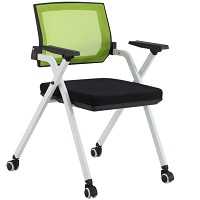BEST WITH ARMRESTS COMFORTABLE FOLDING DESK CHAIR Summary