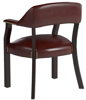 BEST WITH ARMRESTS FARMHOUSE DESK CHAIR NO WHEELS