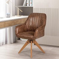 BEST WITH ARMRESTS WOOD DESK CHAIR NO WHEELS Summary