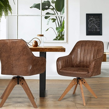 BEST WITH ARMRESTS WOOD DESK CHAIR NO WHEELS