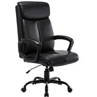BEST WITH BACK SUPPORT COMFORTABLE LEATHER OFFICE CHAIR Summary