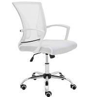 BEST WITH BACK SUPPORT COMFORTABLE WHITE OFFICE CHAIR Summary