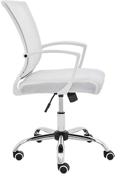 BEST WITH BACK SUPPORT COMFORTABLE WHITE OFFICE CHAIR