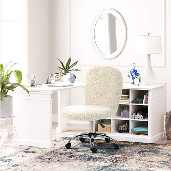 BEST WITH BACK SUPPORT CUTE COMFY DESK CHAIR