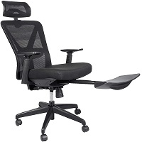 BEST WITH BACK SUPPORT EXECUTIVE CHAIR WITH FOOTREST Summary