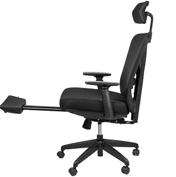 BEST WITH BACK SUPPORT EXECUTIVE CHAIR WITH FOOTREST