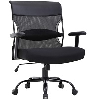 BEST WITH BACK SUPPORT HEAVY DUTY CHAIR 500 LBS Summary