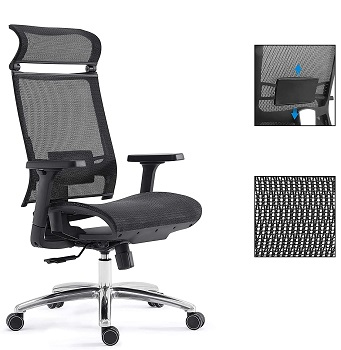 BEST WITH BACK SUPPORT MOST COMFORTABLE TASK CHAIR