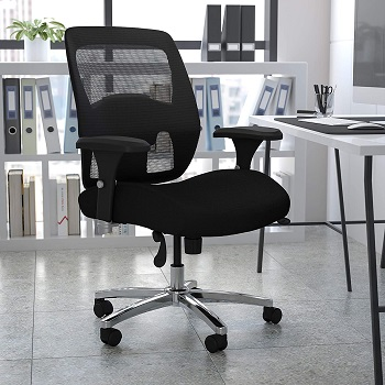 BEST WITH BACK SUPPORT OFFICE CHAIR FOR OVER 300 LBS