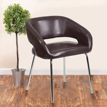 BEST WITH BACK SUPPORT PADDED DESK CHAIR NO WHEELS