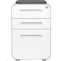 BEST WITH SEAT 3-DRAWER MOBILE FILE CABINET picks