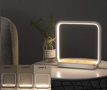 Bedside Lamp Qi Wireless