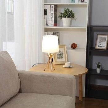 CASILVON Gold Table Lamp, Set of 2