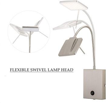 CO-Z Modern Wall Lamp Plug